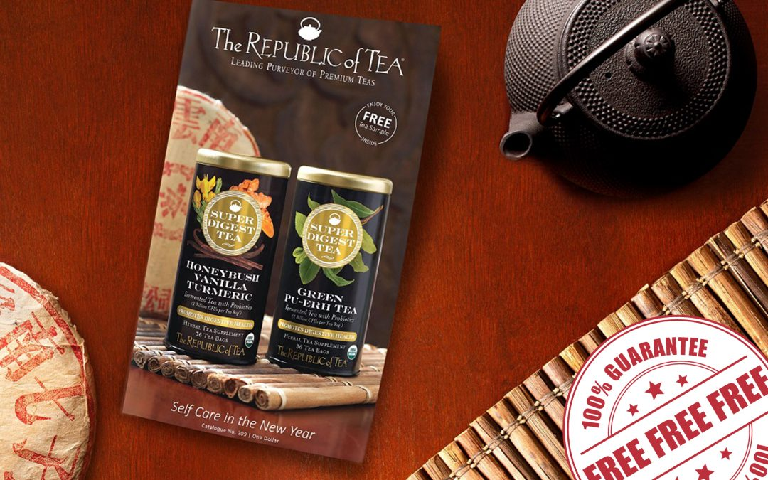 FREE CATALOGUE FROM THE REPUBLIC OF TEA