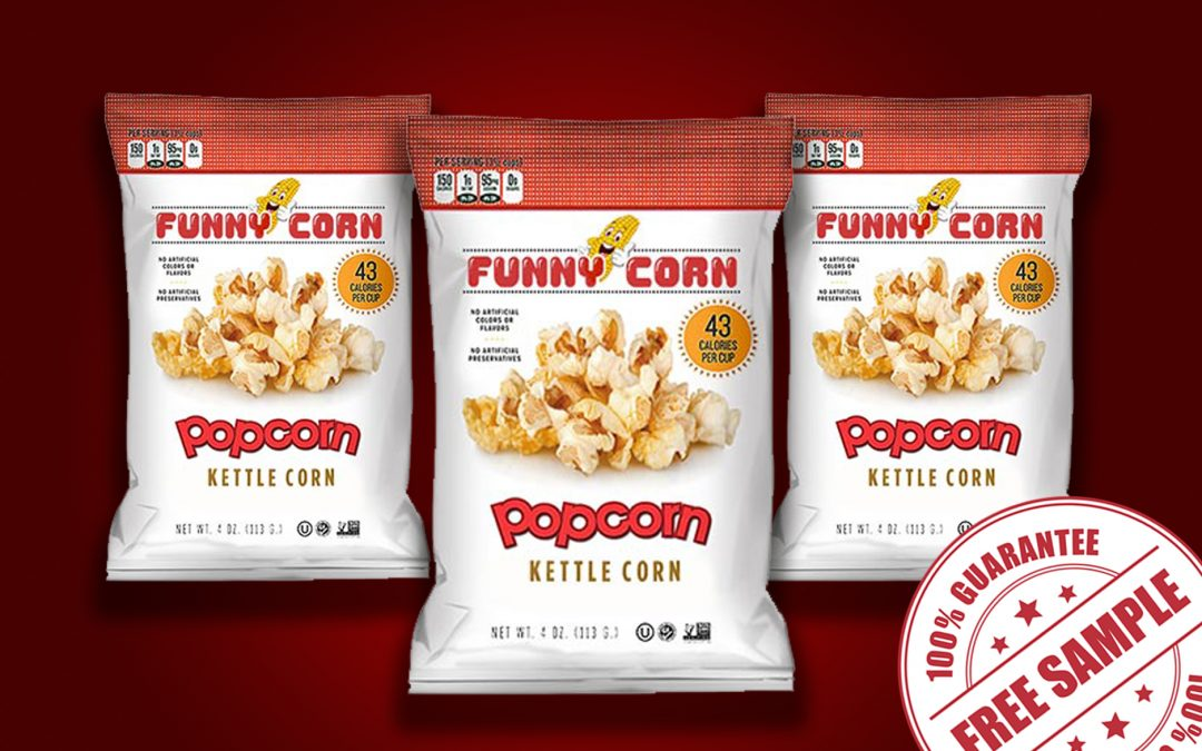 FREE SAMPLE OF FUNNY CORN POPCORN