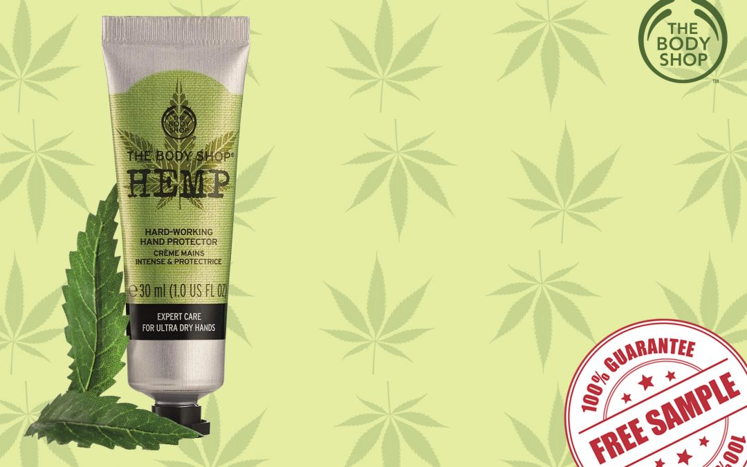 FREE SAMPLE OF THE BODY SHOP HEMP HAND PROTECTOR