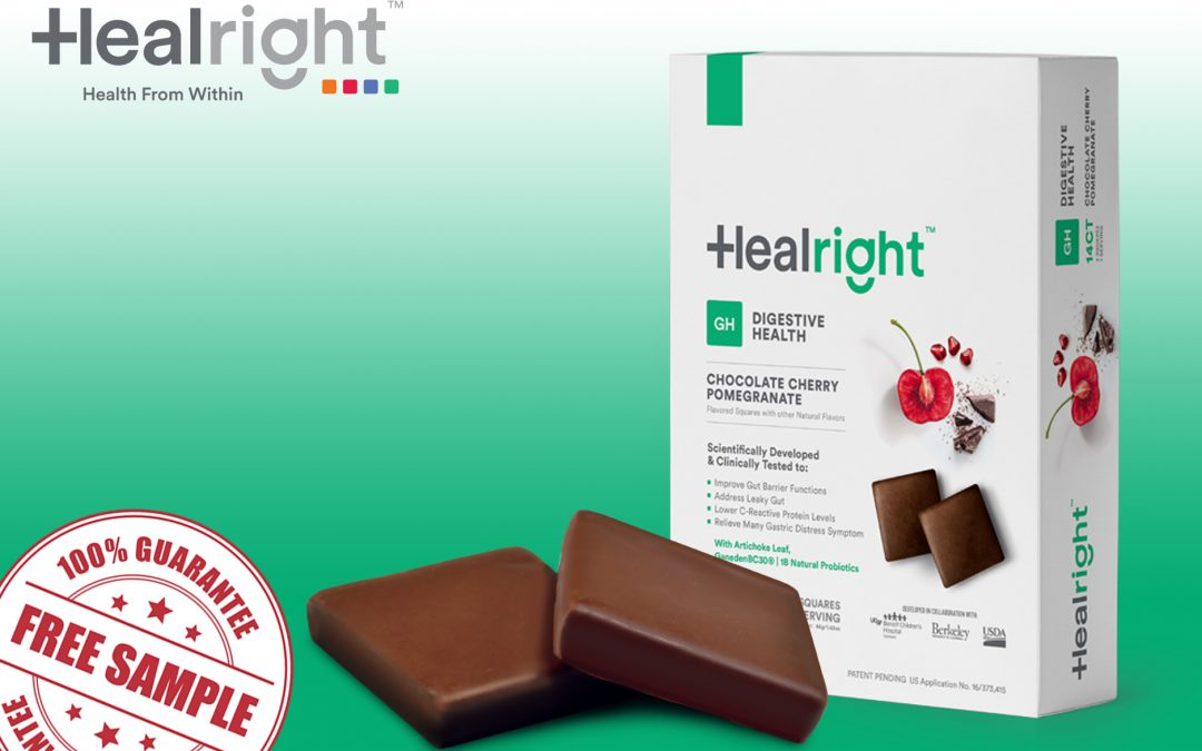 FREE SAMPLES OF HEALRIGHT DIGESTIVE HEALTH