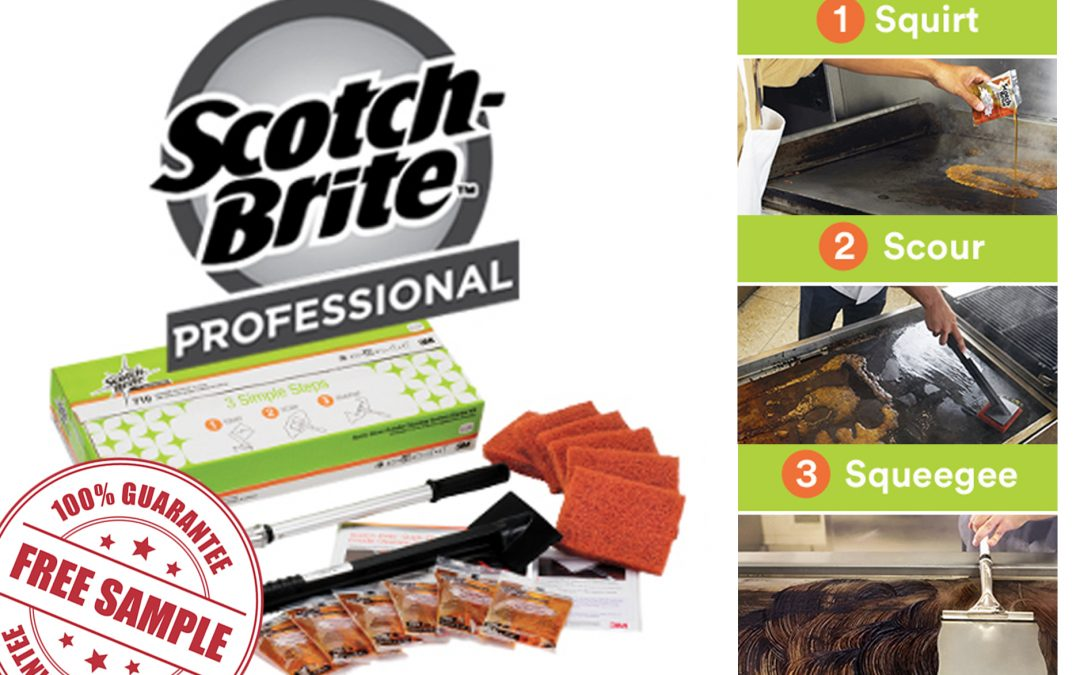 FREE SCOTCH-BRITE QUICK CLEAN STARTER KIT
