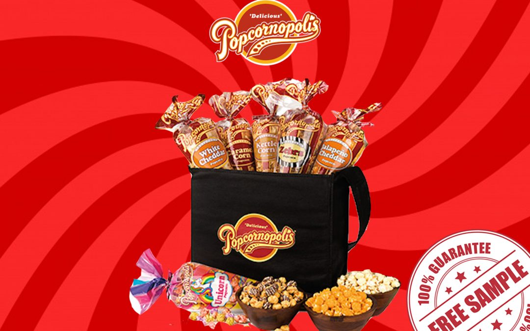 FREE SAMPLE KIT OF POPCORNOPOLIS