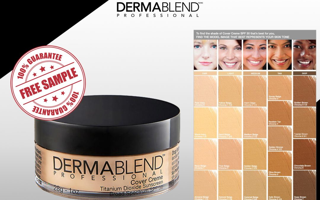 FREE SAMPLE OF DERMABLEND COVER CREME FOUNDATION