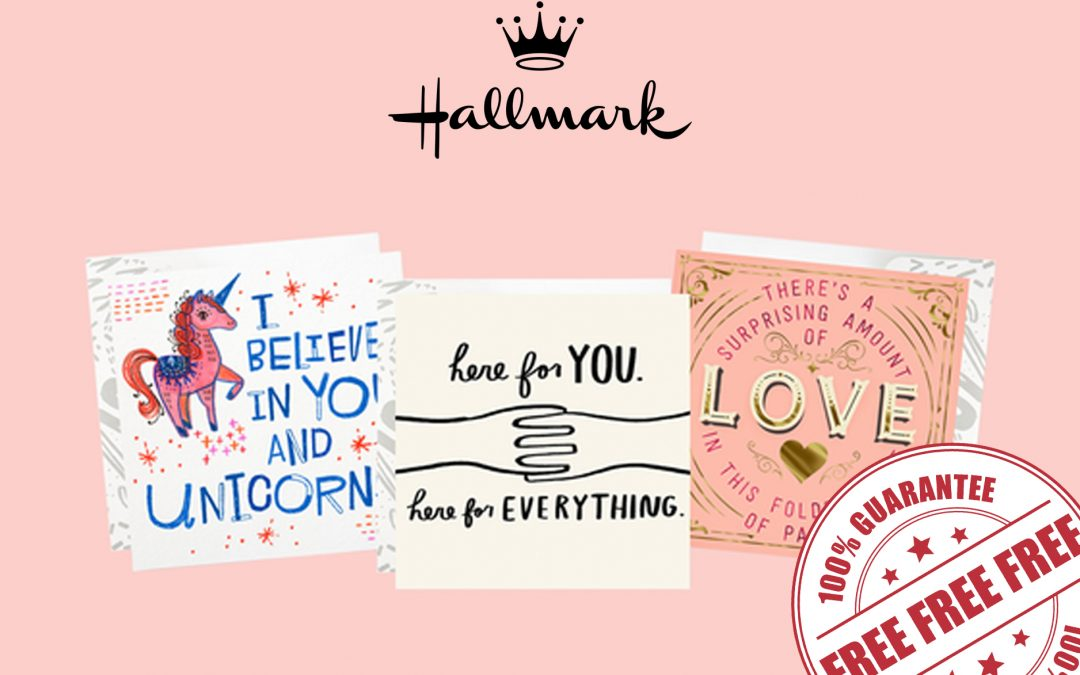 FREE 3-PACK CARDS FROM HALLMARK