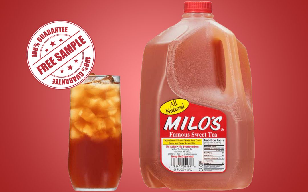 FREE MILO'S ICED TEA FOR HEALTHCARE PROFESSIONALS
