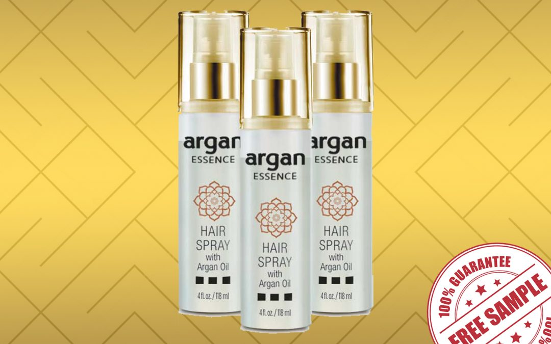argan hair spray