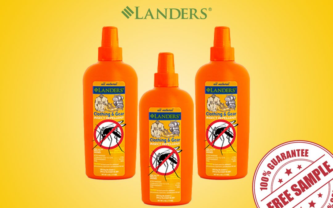 FREE SAMPLE OF LANDER'S ALL NATURAL INSECT REPELLENT