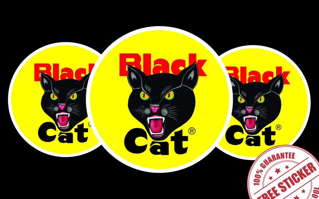 FREE STICKERS FROM BLACK CAT FIREWORKS