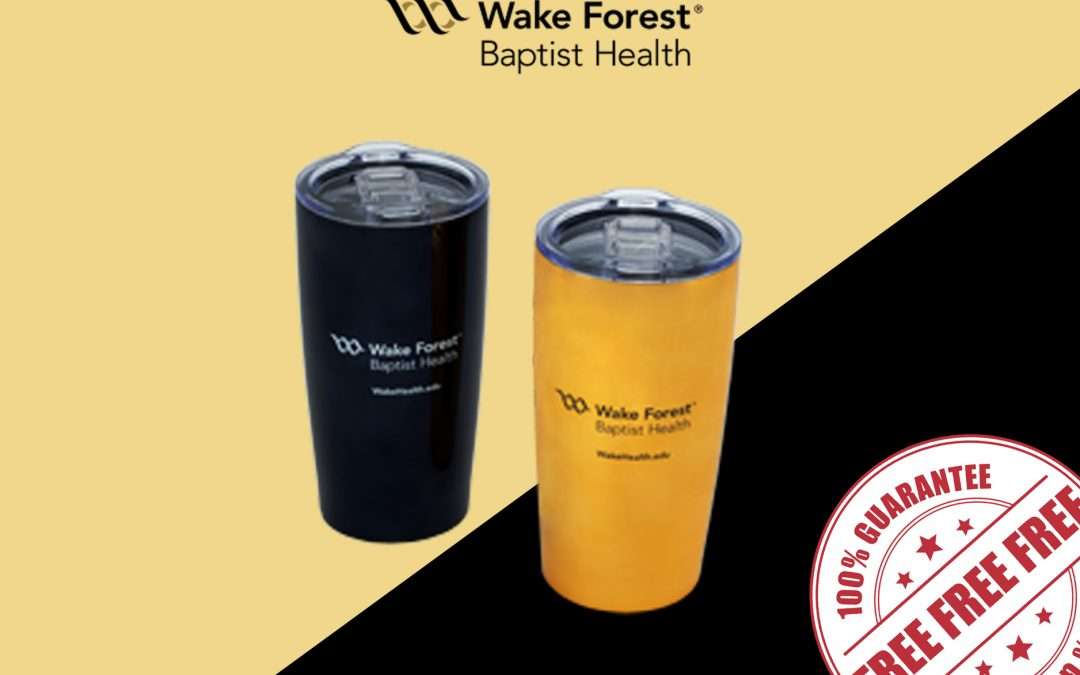 FREE MUG FROM WAKE FOREST BAPTIST HEALTH