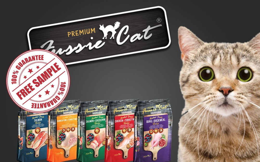 FREE SAMPLE OF FUSSIE CAT DRY