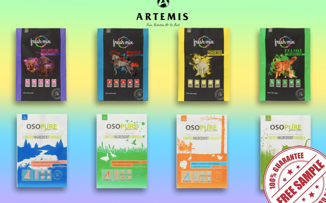 FREE SAMPLE OF ARTEMIS DRY FOOD