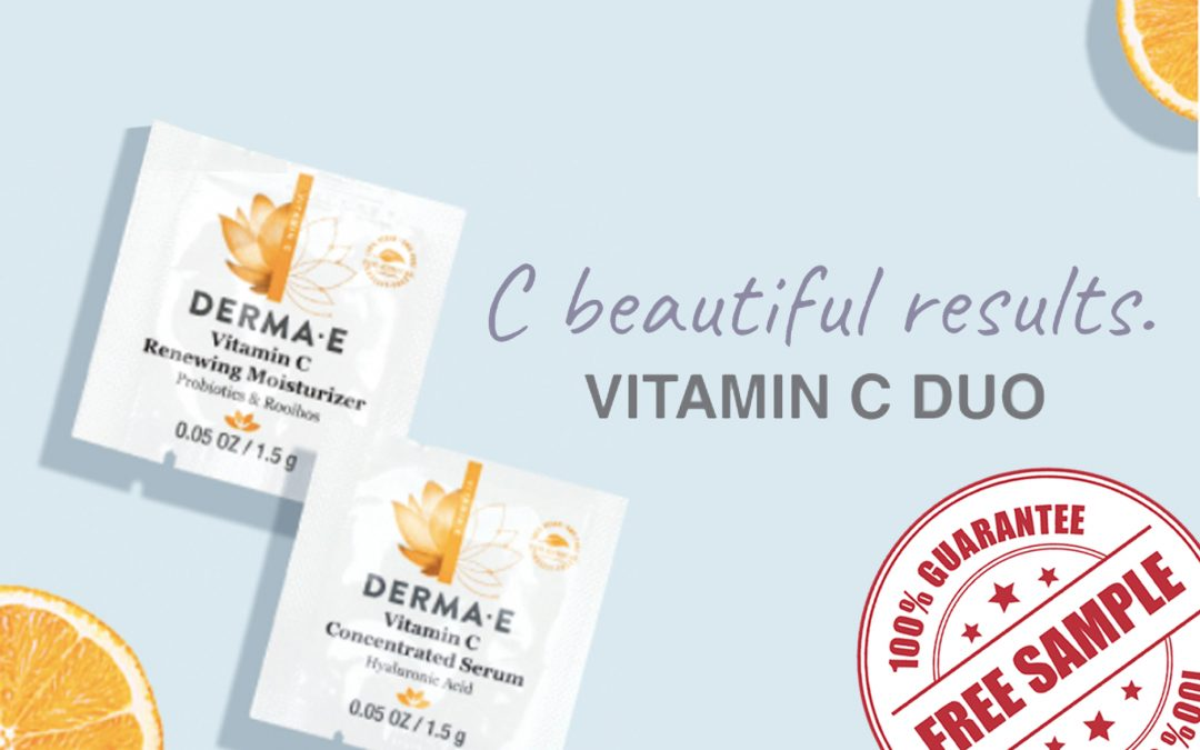 FREE SAMPLE OF DERMA-E VITAMIN C DUO