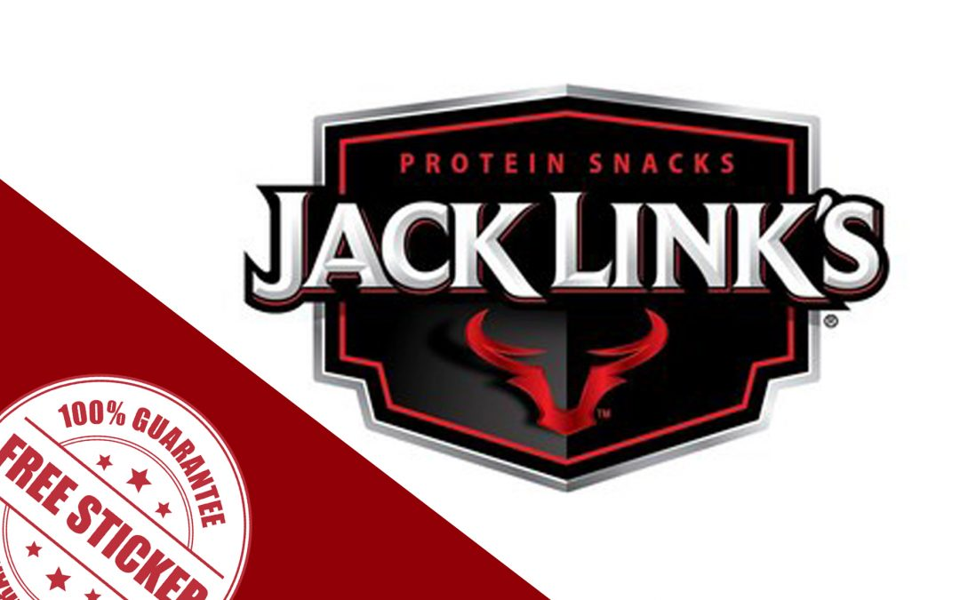 FREE STICKERS FROM JACK LINK'S