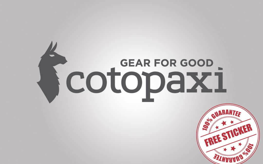 FREE LLAMA STICKER FROM COTOPAXI