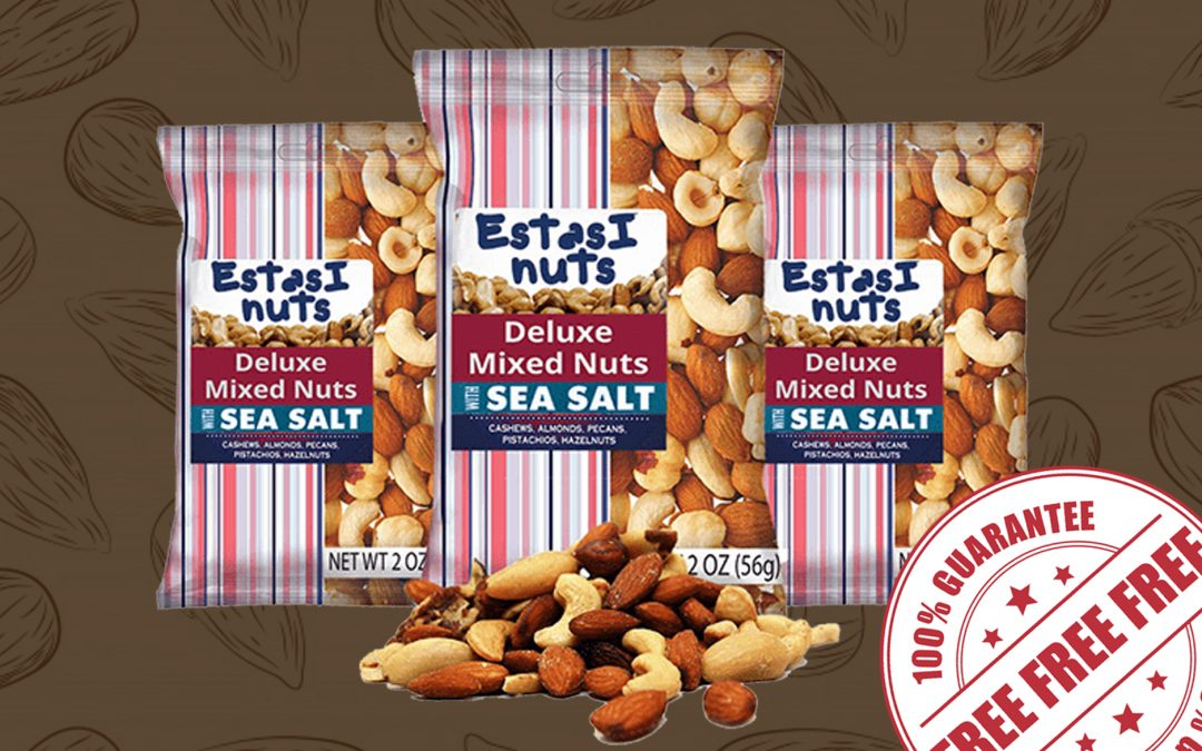 FREE SAMPLE OF ESTASI NUTS DELUXE MIXED NUTS