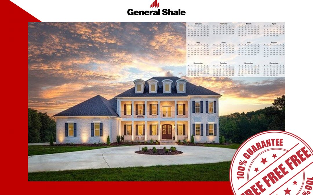 FREE 2021 CALENDAR FROM GENERAL SHALE