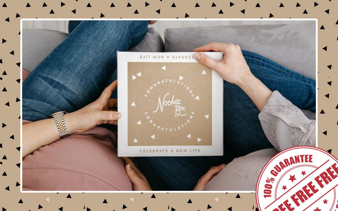 FREE NOOBIE BOX FOR MOMS TO BE