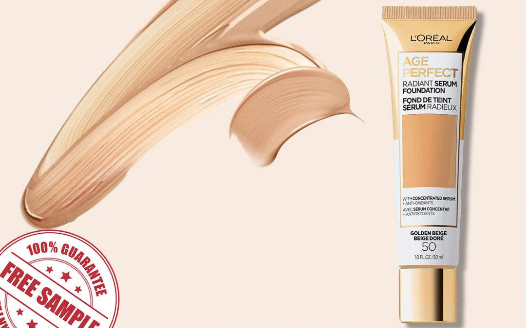 FREE SAMPLE OF L'OREAL AGE PERFECT RADIANT SERUM FOUNDATION