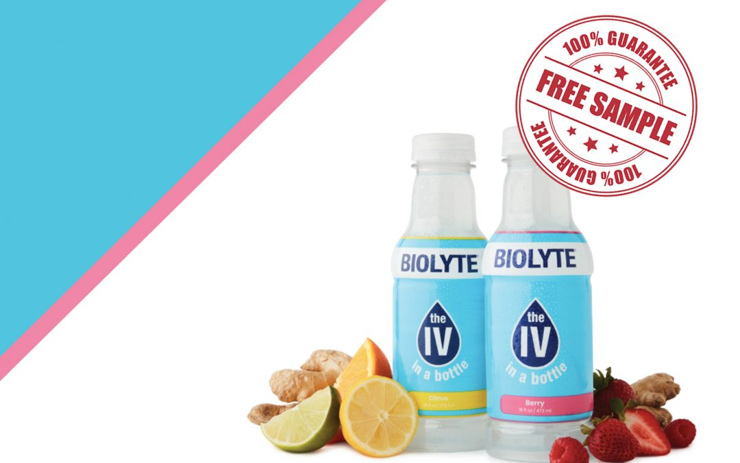 FREE SAMPLE OF BIOLYTE IV IN A BOTTLE