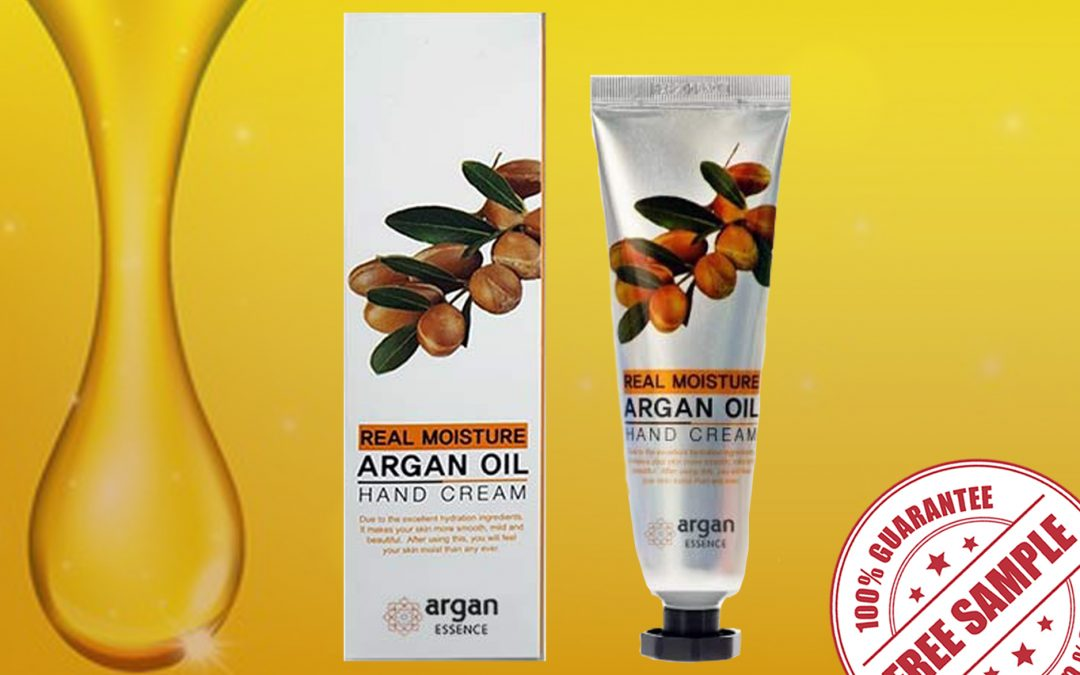 FREE SAMPLE OF ARGAN OIL HAND CREAM