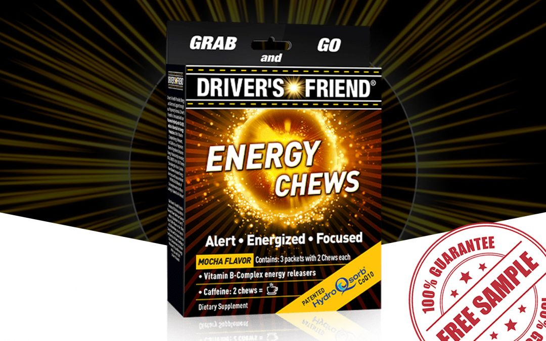 FREE SAMPLE OF DRIVER'S FRIEND ENERGY CHEWS