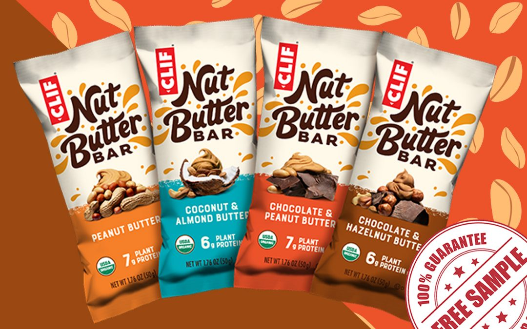 FREE SAMPLE OF CLIF NUT BUTTER BAR