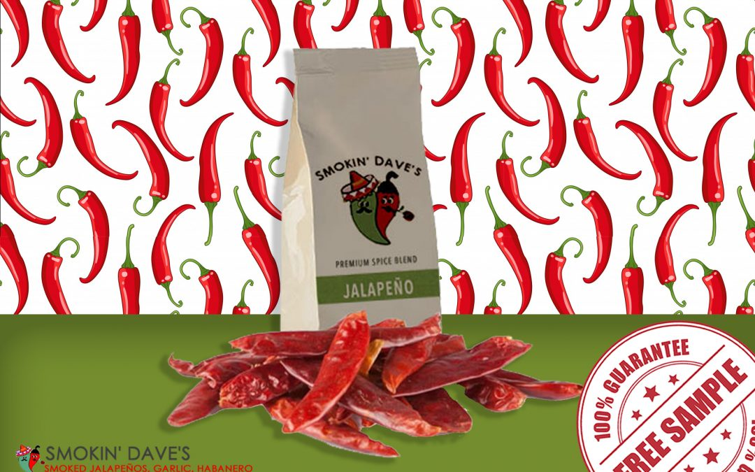 FREE SAMPLE OF SMOKIN' DAVE'S PREMIUM SPICE BLEND