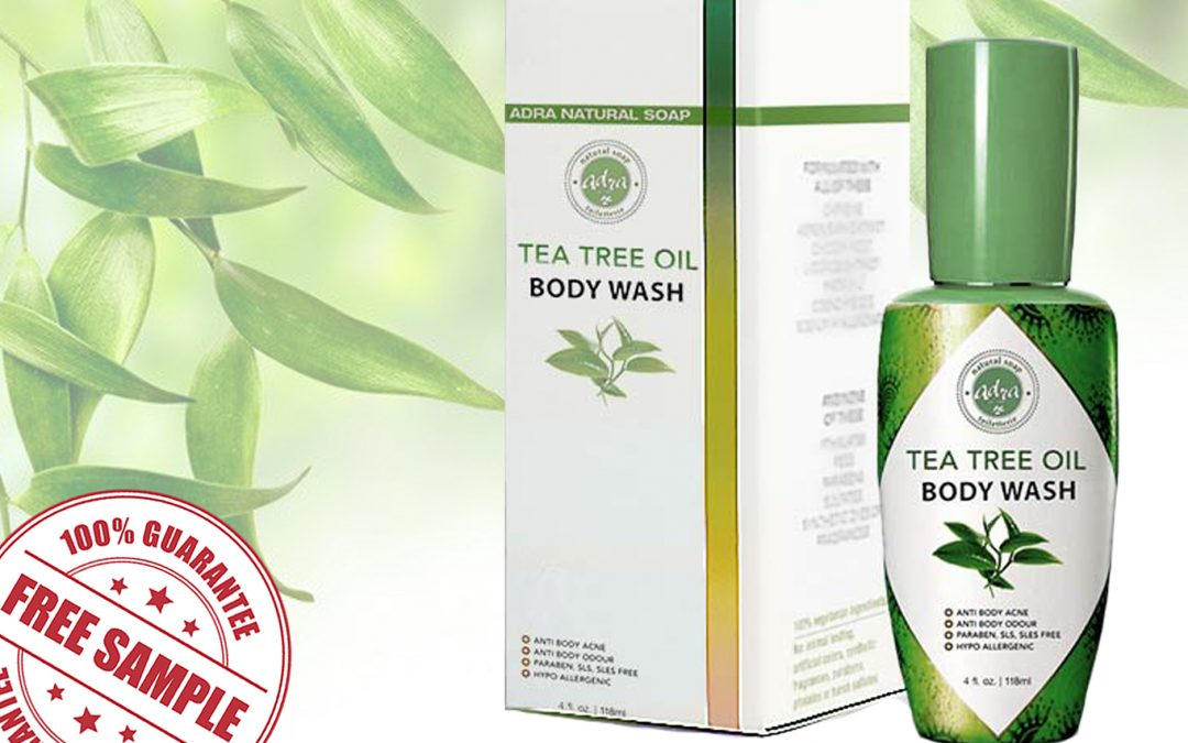 FREE SAMPLE OF ADRA TEA TREE OIL BODY WASH