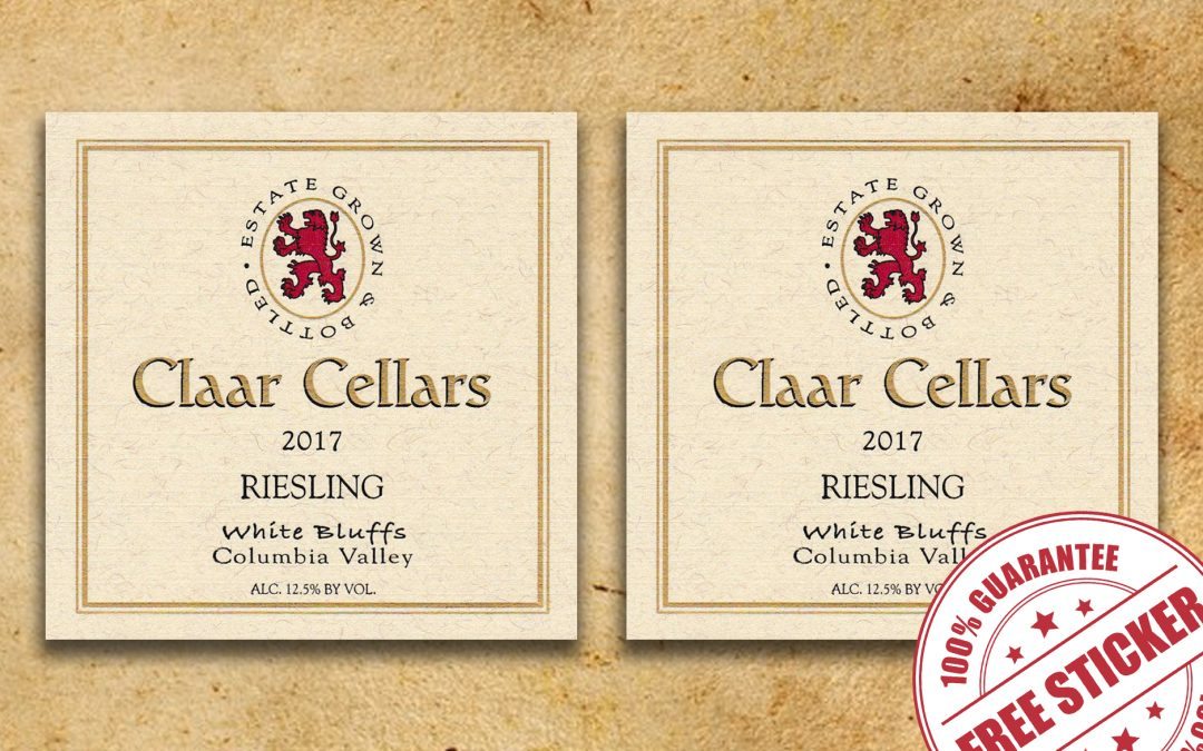 FREE STICKER LABELS FROM CLAAR CELLARS