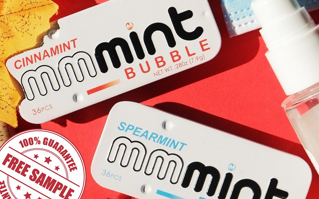FREE SAMPLE OF SPEARMINT MMMINT BUBBLE