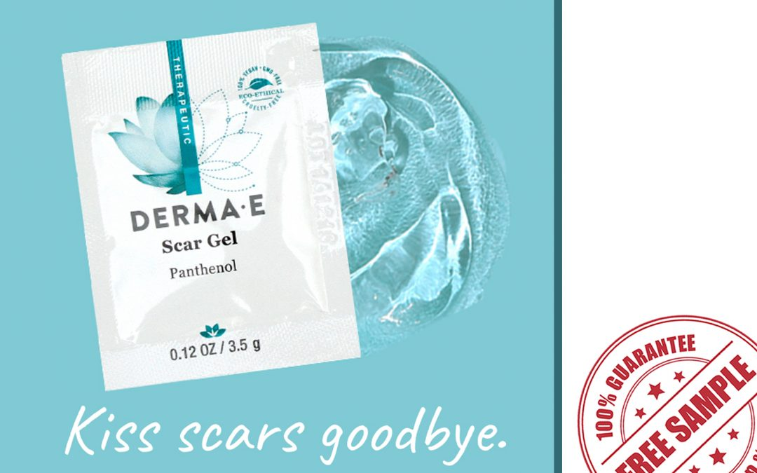 FREE SAMPLE OF DERMA-E SCAR GEL