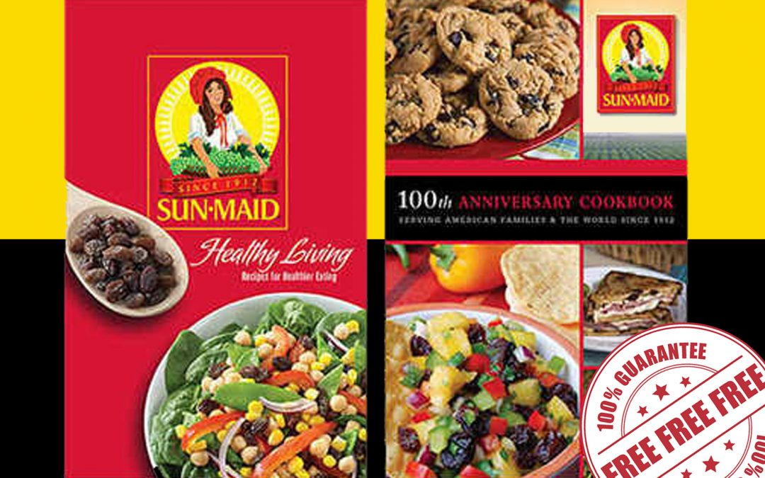 FREE RECIPE BOOKLET FROM SUN-MAID RAISINS