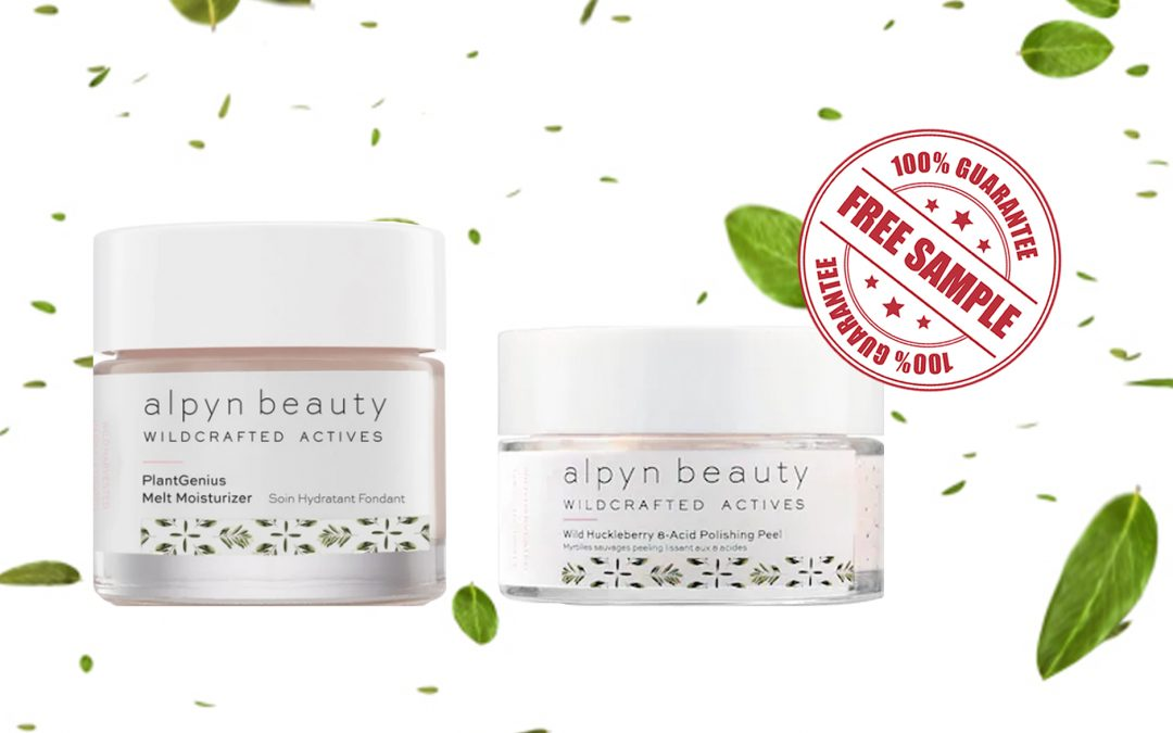 FREE SAMPLE OF ALPYN BEAUTY PRODUCTS