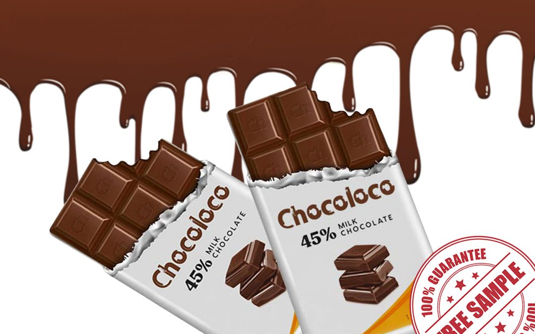 FREE SAMPLE OF CHOCOLOCO MILK CHOCOLATE BAR