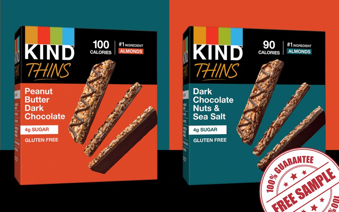 FREE SAMPLE OF KIND BAR THINS