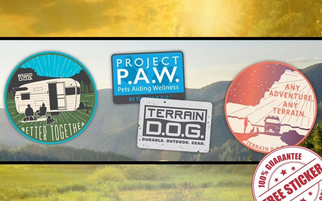 FREE STICKERS FROM TERRAIN D.O.G.
