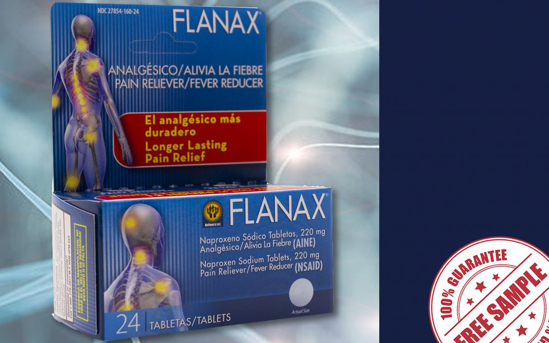 FREE SAMPLE OF FLANAX PAIN RELIEVER TABLETS